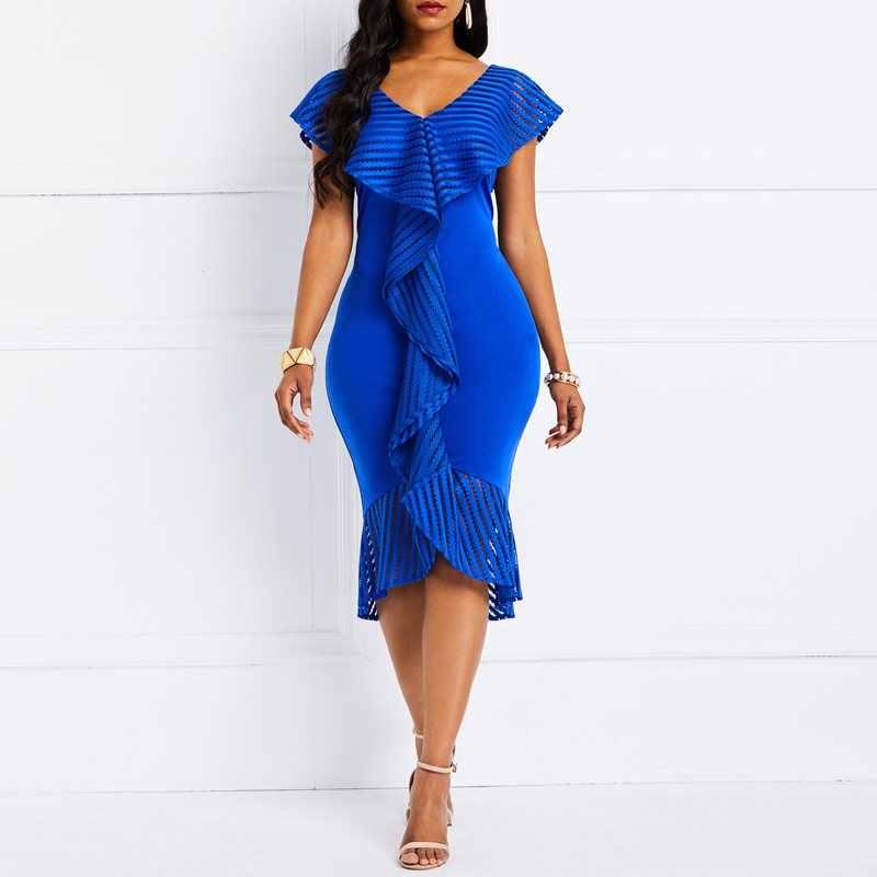 3f5dab012418d Detail Feedback Questions about Women Dresses 2019 Summer Elegant ...
