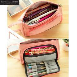 New Lovely Pencil Case Kawaii Large Capacity Pencilcase School Pen Case Supplies Pencil Bag School Box Pencils Pouch Stationery
