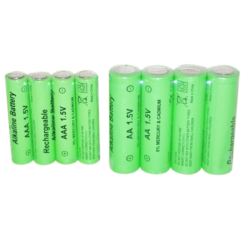 9Pcs <font><b>1.5V</b></font> <font><b>Rechargeable</b></font> <font><b>Aa</b></font> <font><b>Battery</b></font> Aaa <font><b>Alkaline</b></font> 2000-3000Mah For Torch Toys Clock Mp3 Player Replace Ni-Mh <font><b>Battery</b></font> image