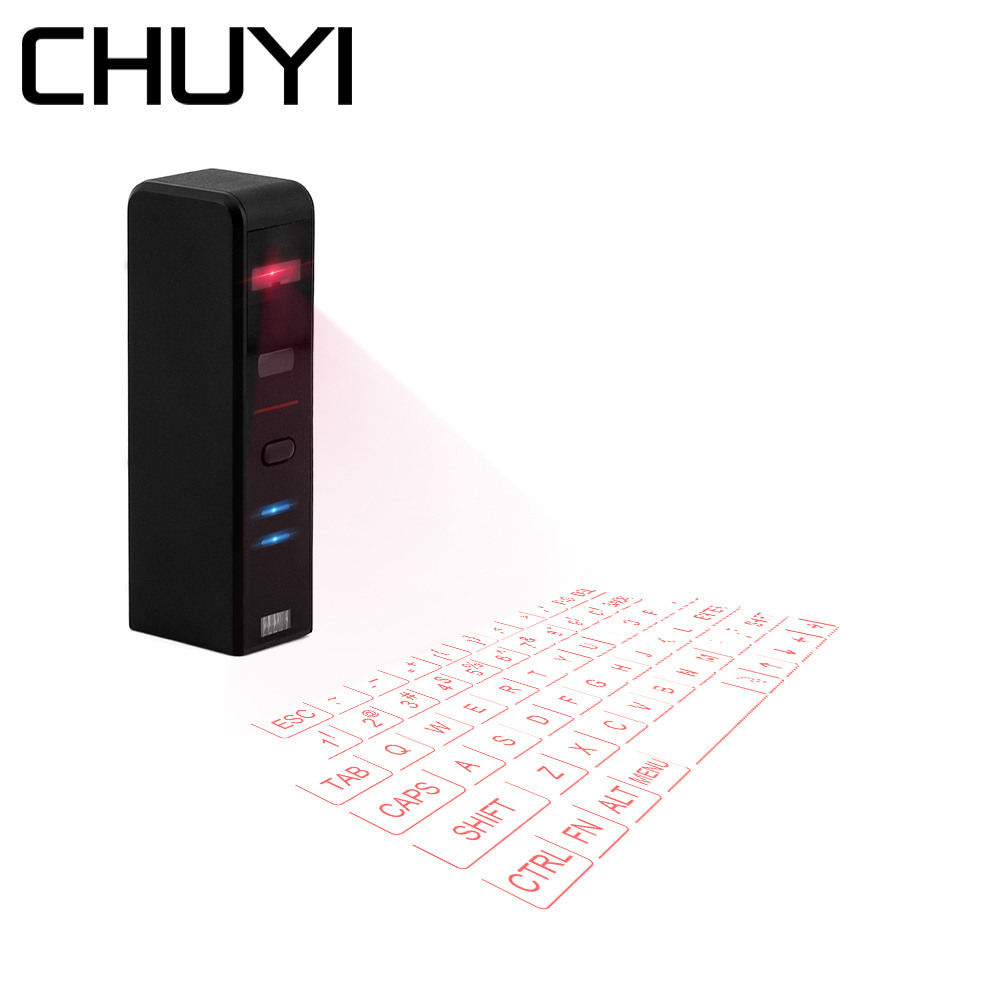 $29.62 | CHUYI Virtual Laser Projection Mini Keyboard Bluetooth Wireless Keypad For Iphone Macbook Air PC Tablets Notebook Computer