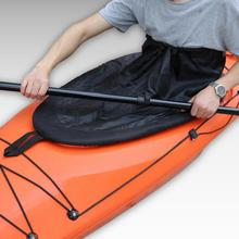 Cockpit Style Adjustable Kayak Canoe Boat Spray Skirt Deck Cover for Flatable Fishing Dinghy Accessories