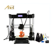 цена на Good Compatibility Anet A8 3d Printer Normal And Auto Level High Precision Reprap Prusa i3 DIY 3d Printer Kit With Free Filament
