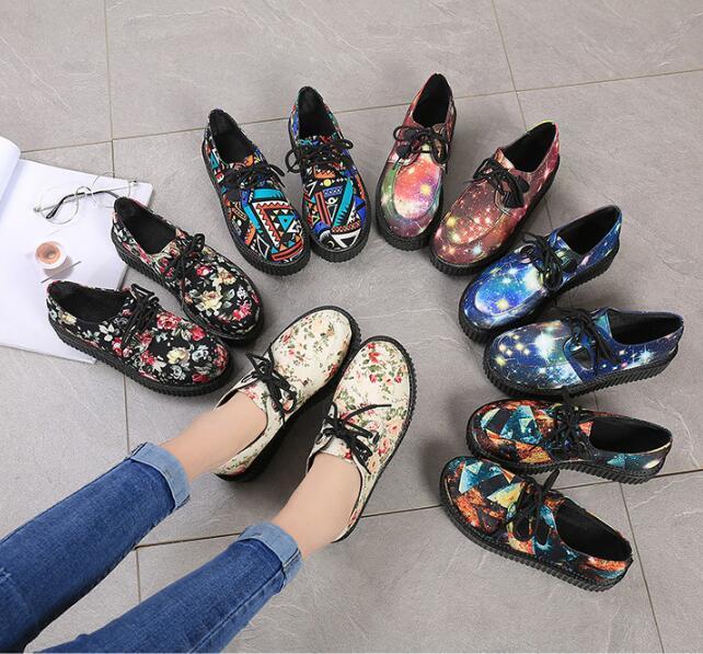 2 11 forme Sneakers Mode 3 Designer Appartements 8 9 Femmes 1 7 Nouveau Rose Automne Printemps De Creeper Noir Détouré 21 Sur Slip 10 20 6 18 19 Creepers 5 17 12 Chaussures 16 14 Plate Mesdames 13 4 15 BCwdqq