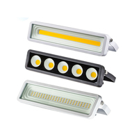 DE.SOUL Flood Light LED 50W Outdoor WaterProof IP66 220V 230V LED Projector Floodlight Spotlight Wall Lamp
