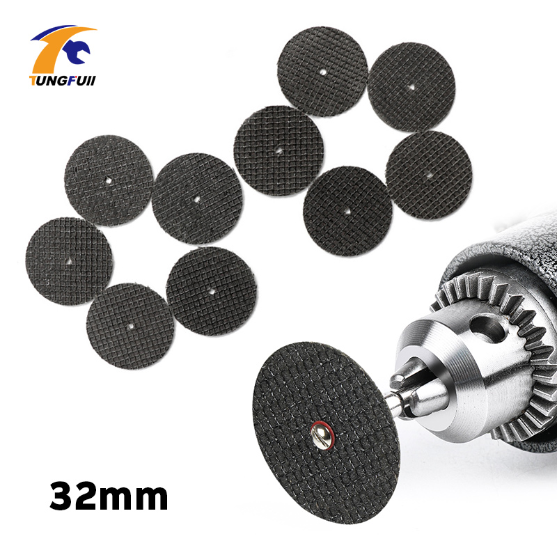 Tungfull Accesorios Dremel Cutting Disc 32mm Metalworking Engraver Electric Accesorios Dremel Tools Resin Cutting Sheet