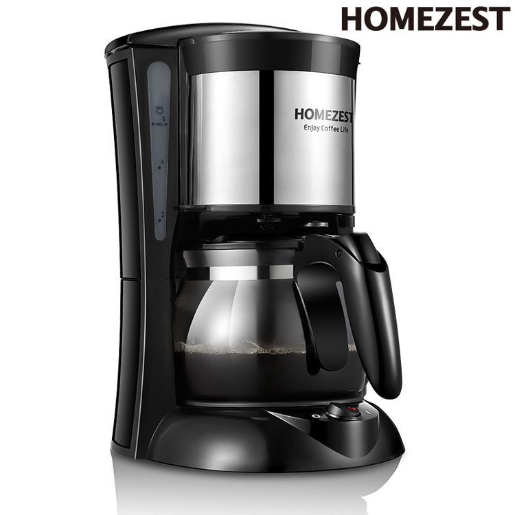 Household Automatic American Drip Coffee Machine Cook Coffee Pot Tea Makers HOMEZESTCM-323 free shipping drip coffee pot of machine coffee makers coffee machine
