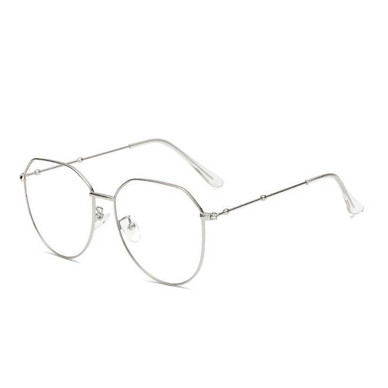 Женские и мужские очки Zilead, очки в стиле ретро с металлическим полигоном для близорукости