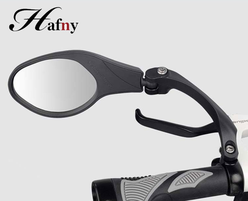 Bike Rear view Mirror Hafny Unbreakable Rotatable Safety Back Review Stainless Aluminum Flexible Side Mirror|Bike Mirrors| |  - title=
