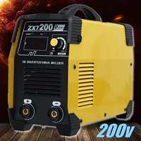 ZX7 200 220V Mini Portable Inverter DC Welders IGBT Welding Machine 20 200A Manual Home Arc Welders Welding Equipment Tools