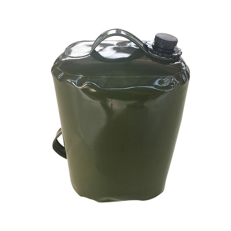 Sac de conteneur d'essence d'huile professionnelle 30L TPU sac d'eau pliable peut stocker l'essence Diesel huile voiture bateau avion
