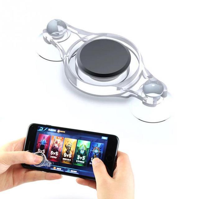 Mini botón manejar el disparador del juego del teléfono colores aleatorios
