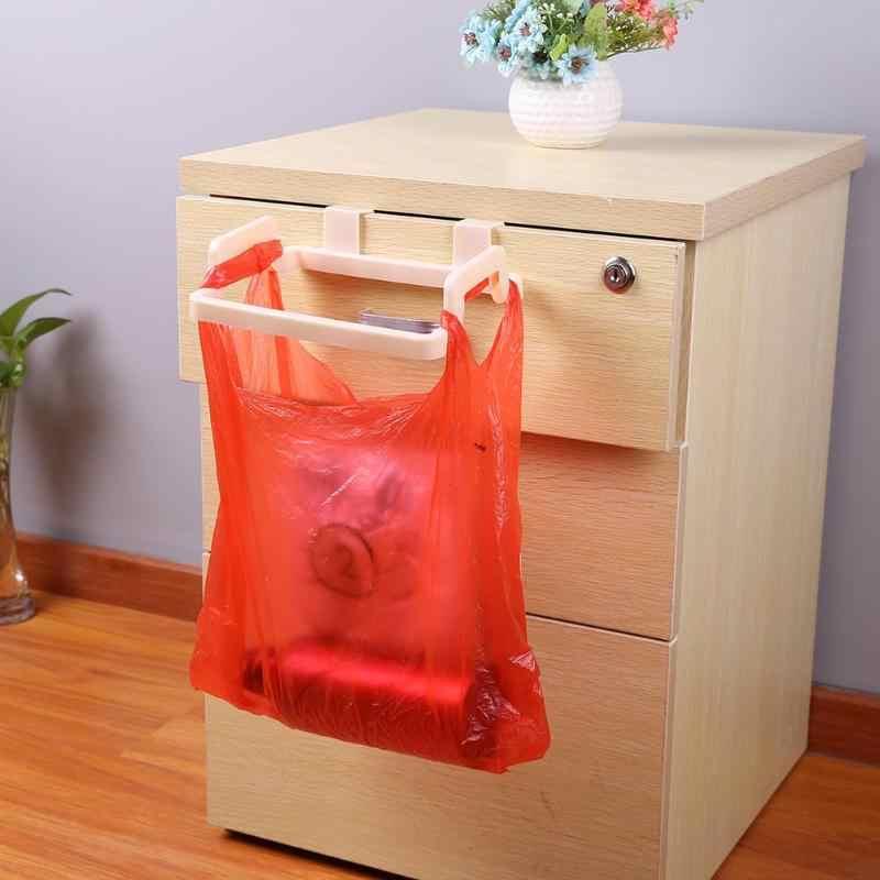1Pc przenośny kosz na śmieci uchwyt na torebkę kuchnia Incognito szafki wieszak na ubrania gadżety organizator szafka półka na ręczniki przechowywania 2018