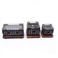 Japanese Korean Barbecue Grill Food Carbon Furnace Barbecue Stove Cooking Oven Alcohol Grill Household BBQ Tools S/M/L