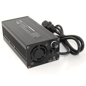 Image 3 - 14.6V 20A Charger 4S 14.4V LiFePO4 Battery Smart Charger High Power With Fan Aluminum Case