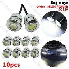 Шт. 10 светодио дный шт. DRL LED Eagle Eye 12 В в 9 Вт чистый белый Дневные ходовые огни для автомобиля Авто Резервное копирование задний фонарь Противотуманные фары парковочные огни