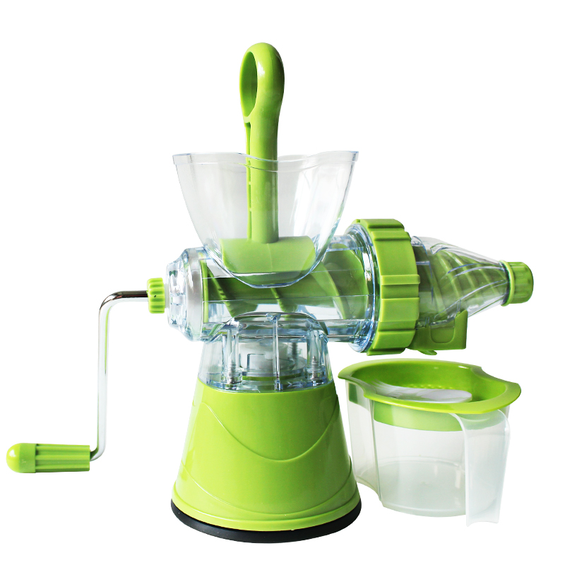 Manual Hand Crank Juicer Fruit Vegetable Press Squeeze Machine Durable Multifunction Ice Cream Maker Kitchen Tool