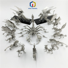 Models-Toys Assembly Metal-Model Dinosaurs Fire-Dragon Adult Collection Zodiac Chinese