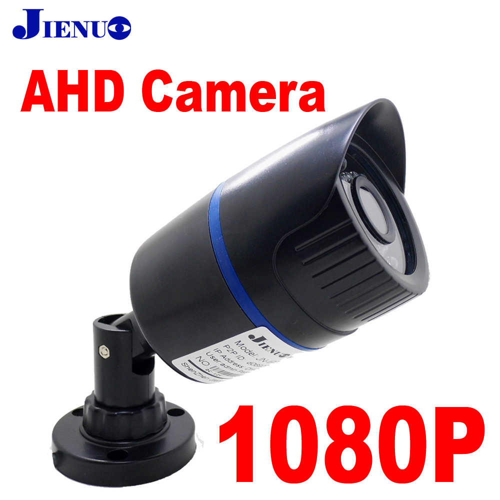 JIENUO AHD Camera 1080 p Analoge Surveillance Infrarood Nachtzicht Cctv Thuis Indoor Outdoor Bullet 2mp Full Hd Camera