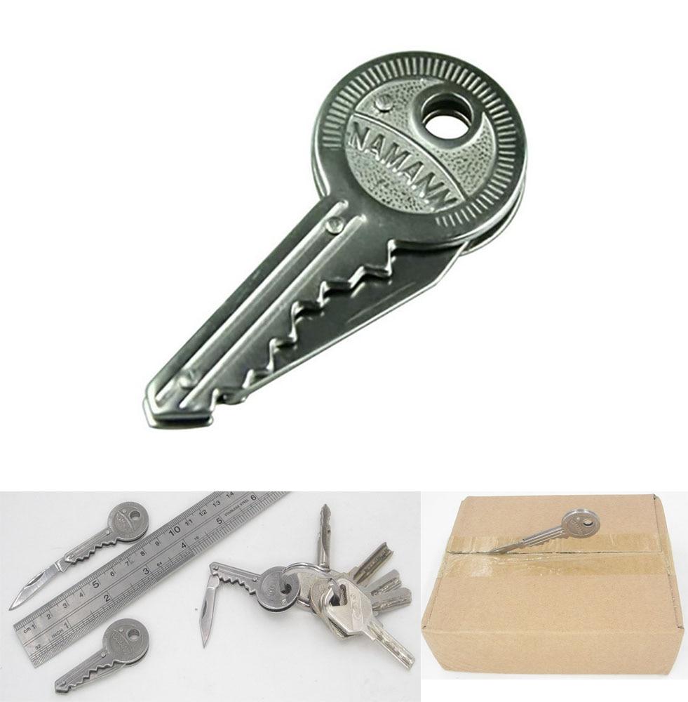 Treu Pare Peel Gadget Paket Box Mini Klinge Falten Schlüssel Messer In Überleben Tasche Werkzeug Schäler Brief Opener Bequem Und Einfach Zu Tragen Schneiden Liefert