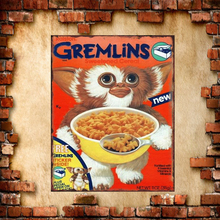 Vintage Metal Retro Plate Gremlins Iron Poster Tin Sign Wall Decoration Size:20*30cm