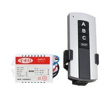 لاسلكي 200 فولت 240 فولت LED مصباح السقف ON/OFF التتابع مفاتيح استقبال 1/2/3 طرق مفتاح بالتحكم عن بعد