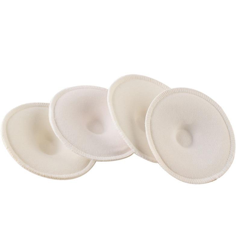 4pcs Fashion Baby Feeding Breast Pad Washable Nursing Bra Soft Absorbent Reusable Nursing Anti-overflow Maternity Nursing Pad