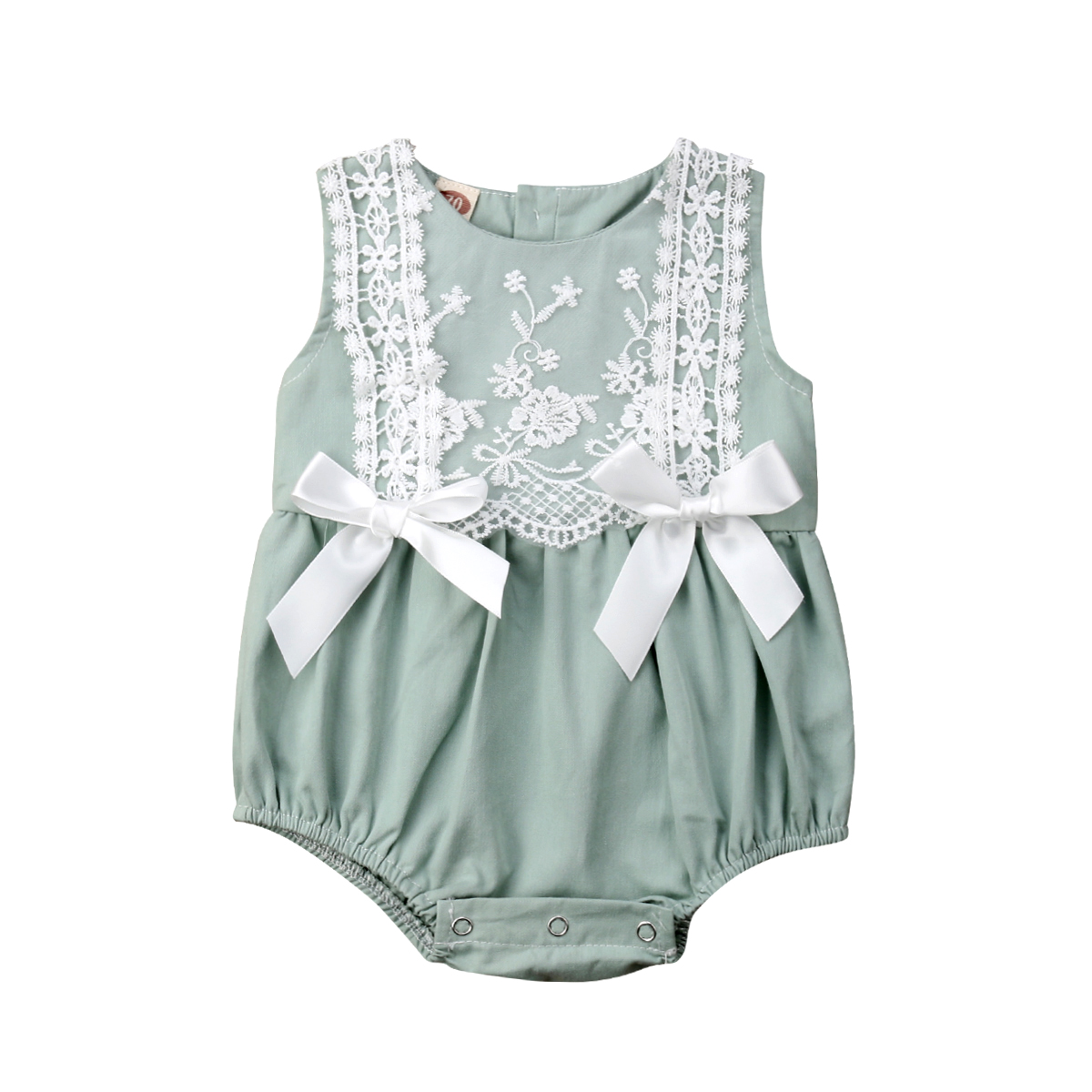 Infant Newborn Baby 2019 Brand New  Girls Clothing Lace Ruffles Rompers Jumpsuit Cute Bow Sunsuit Summer Baby Girls Rompers