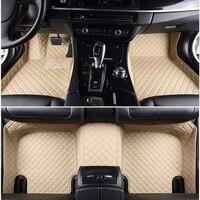 ChiTu custom car floor mats for MG MG3 SW MG5 MG6 MG7 GT MG ZS MGHS RX5 3D car styling car leather carpet