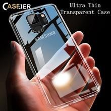 CASEIER Transparent Phone Case For Samsung Galaxy A5 2017 A3 A7 J3 J5 J7 2016 Soft Clear S9 S8 Plus S6 S7 Funda
