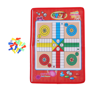 Traditional Flight Chess Board Game Ludo Chess Game Folding Chessboard Entertainment for Kid Children Boardgame Intelligence Toy(China)
