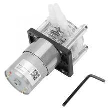 Большой поток перистальтический насос дозирующий вакуумный крепкий всасывающий насос DC12v мотор su pompasi