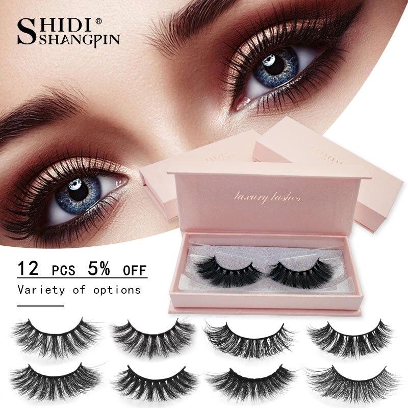 Sinso 1 Box Mink Eyelashes 1pair 3d Mink Lashes Natural Long False Eyelashes Full Strip Lash Makeup Eyelash Extension 50 Styles Beauty Essentials Beauty & Health