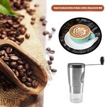 Портативная ручная кофемолка мини ручная кофейная мельница для специй в зернах ручной кофе для дома
