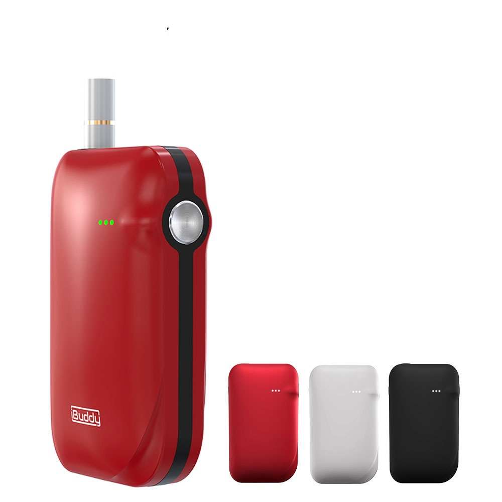 Original IBuddy i1 Heating Kit 1800mAh Battery E cig Vaping Kit Portable Dry Herb Heating Vaporizer