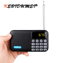 Portable Digital DAB P8 DAB+FM Radio Player Receiver W/ Bluetooth Stereo Speaker Outdoor FM Receiver Music Player With Battery