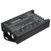 TC420 zaman programlanabilir RGB LED denetleyici DC12V-24V 5 kanal LED zamanlama dimmer