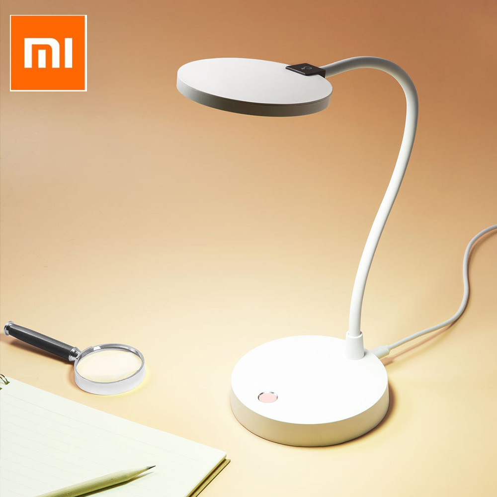Xiaomi Mijia COOWOO Intelligent LED Desk Lamp With Light Sensor Wireless Eye-protecting LED Night Light For Xiaomi Smart Home