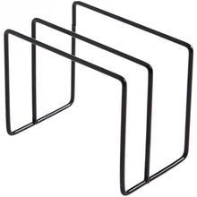 Высокое качество разделочная доска стенд кухонный Органайзер двойные стеллажи разделочная доска полка железная