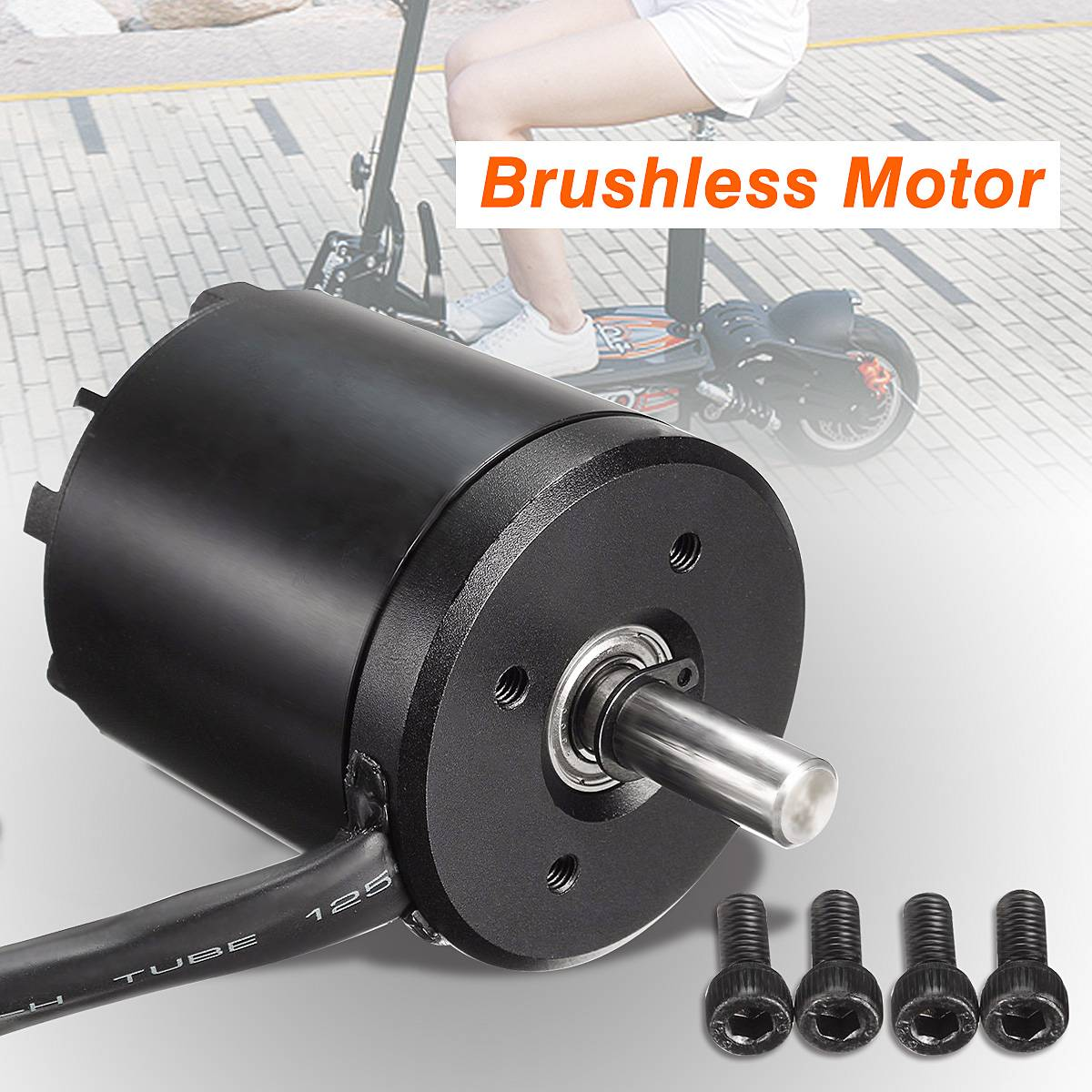 <font><b>Brushless</b></font> Sensored <font><b>Motor</b></font> 5065 50 65 <font><b>270KV</b></font> 1820W For Electric Skate Scooter 3-8s image