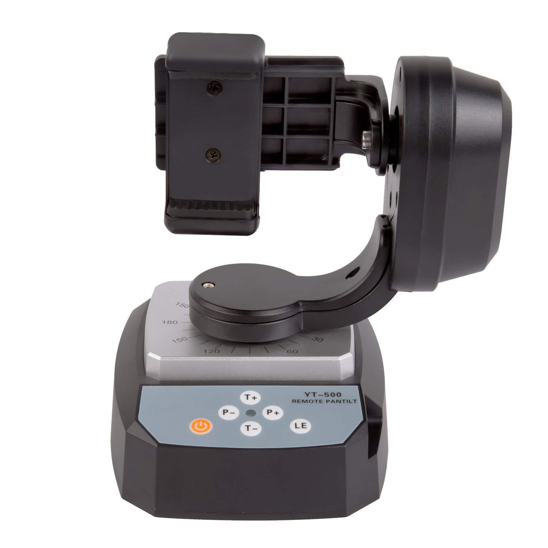 HOT CLCU ZIFON YT 500 Automatic Remote Control Pan Tilt Automatic Motorized Rotating Video Tripod Head