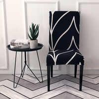 La chaise d'impression de fleur couvre la couverture élastique de chaise extensible pour la housse de chaise d'hôtel de Banquet de mariages
