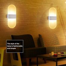 LED Mirror Lights Bathroom Vanity Corridor Wall Light AC 86-265V led hoses wall lamp  Bedroom