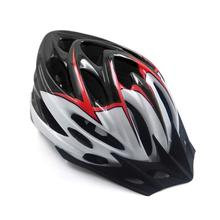 Hot Bicycle Helmets Matte Black Men Women Bike Helmet Back Light Mountain Road Integrally Molded Protection Cycling