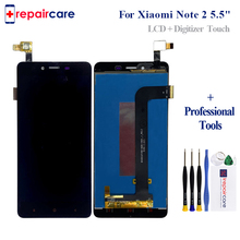 купить Original LCD For Xiaomi Redmi Note 2 LCD Display Screen Replacement For Hongmi Note 2 Digitizer assembly Note 2 5.5