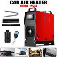 отопитель дизельный 5 кВт 12 В/24 В одиночный выход воздуха Дизели нагреватель автомобиля стояночный нагреватель с ЖК экраном переключатель д