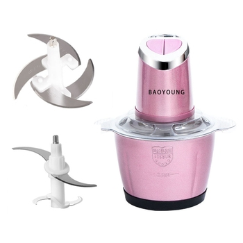 Electric Kitchen Meat Grinder Chopper Shredder Food Chopper Stainless Steel Electric Household Processor Kitchen Tools 2 Cutte 5