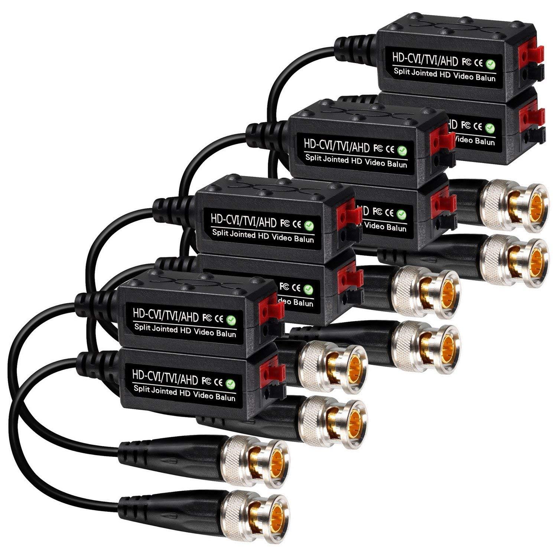 Funkadapter Liefern 4 Pairs Split Joint Mini Cctv Bnc Hd-cvi/tvi/ahd Passive Video Balun Transceiver
