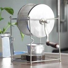 Жаровня для кофе из нержавеющей стали Barista, ручная машина для выпечки кофейных зерен, роликовые кухонные аксессуары, приборы, кофейные инструменты