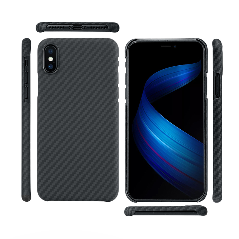 0 7mm Ultra Thin Carbon Fiber Pattern Case for iPhone XS Case Luxury Protective Phone Cover for iPhone XS Max X Case in Half wrapped Cases from Cellphones Telecommunications