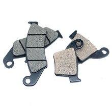 Для Honda CRF250R 2004-2018 CRF250X 2004-2017 CRF450R 2002-2018 CRF450X 2005-2018 CR250R 2002-2007 спереди и сзади тормозные колодки комплект